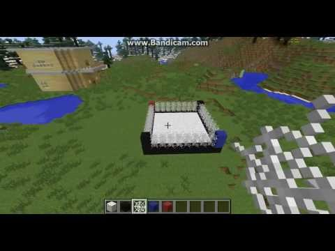 Minecraft building tutorials #5 - Boxing ring
