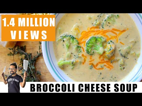 Keto Broccoli Cheese Soup | Keto Recipes | Headbanger's Kitchen
