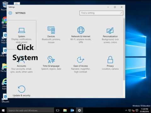 How to set Default web browser in windows 10