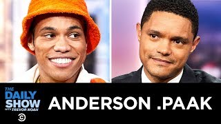 """Anderson .Paak - """"Oxnard"""" & The Brandon Anderson Foundation 