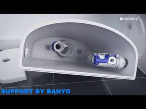 Geberit Type 290 Flushing Valve Installation
