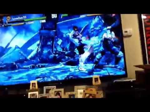 Killer instinct Gameplay Xbox One  (My cousin)