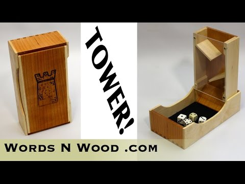 SEE-THROUGH Nesting Dice Tower (WnW #92)