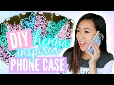 DIY Henna Inspired Phone Case Tutorial | TutorialsByA