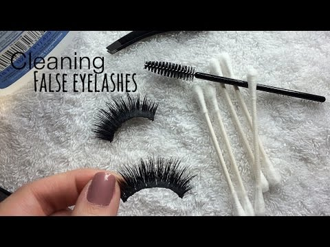 Beauty basics l How to clean eyelashes