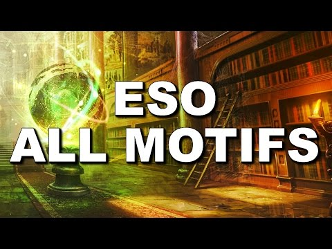 How to Get All Motifs & Crafting Styles in The Elder Scrolls Online