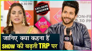 Dheeraj Dhoopar And Shraddha Arya On Kundali Bhagya Being No.1 On TRP Chart | EXCLUSIVE INTERVIEW