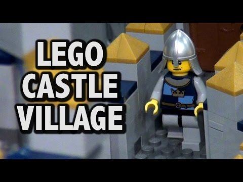 Gigantic LEGO Medieval Castle Village   Brickworld Chicago 2016
