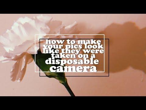 HOW TO EDIT YOUR PICS LIKE HUJI [retro, film]