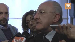 Fondi europei la sfida del governatore De Luca