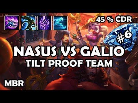 Archduke Nasus Vs Galio | StormRaiders Surge 45% CDR | Road To Diamond #6