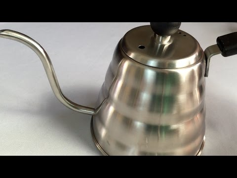 Pour over coffee drip stainless steel gooseneck tea kettle by Simple Kitchen Products