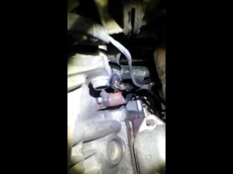 Chrysler 300m crank sensor & block heater install