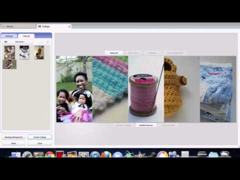 How to create a facebook cover/banner using Picasa