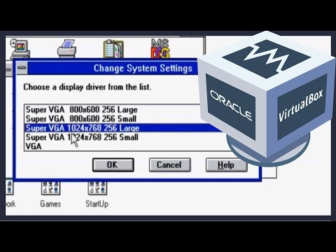How to get the Best Resolution for Windows 3.1 in Virtualbox