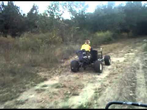 Go-Cart with Dirt Bike motor
