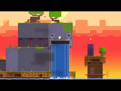 FEZ POCKET EDITION iOS Gameplay Video | Mobile Port First Cubes