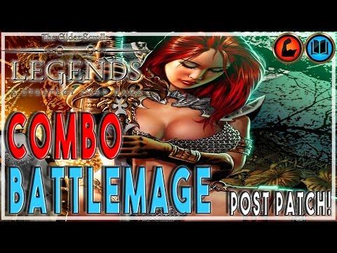 TES LEGENDS | COMBO BATTLEMAGE (POST PATCH!) Strength Intelligence Deck | The Elder Scrolls