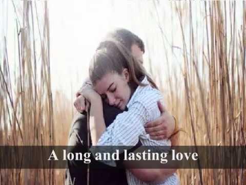 A LONG AND LASTING LOVE - Crystal Gayle (Lyrics)