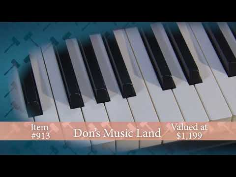 2018 Auction BB913: Don's Music Roland Piano