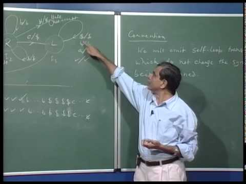 Mod-01 Lec-35 Execution trace, another example (unary to binary conversion).