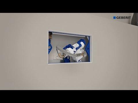 Geberit Concealed Cistern Sigma 8cm (2016) - Maintenance