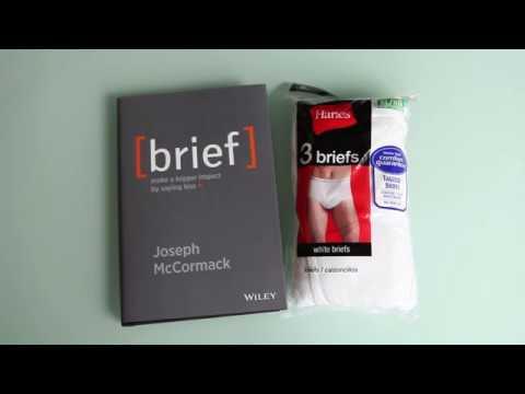 BRIEF - Underwear not included