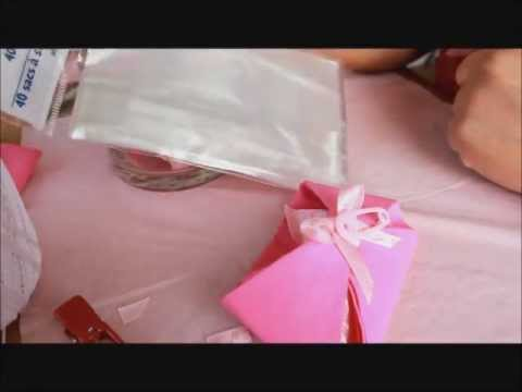 How to make a Baby Diaper favor for baby showers
