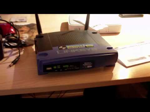 Got a Linksys WRT54G Router