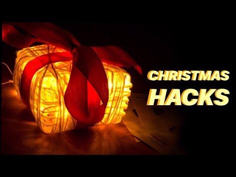 How to make: Glowing Gift Box | Christmas Home Decor