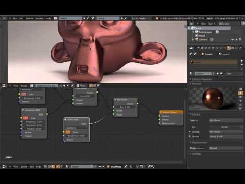 Blender 2.6 Copper Material Tutorial (Cycles)