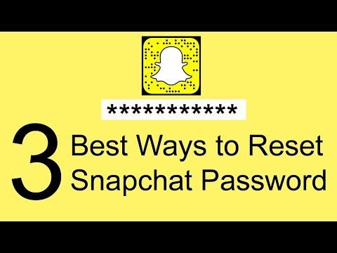 3 Best Ways to Reset Snapchat Password