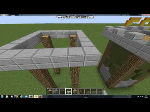 minecraft how to make a clash of clans archer tower lvl 6
