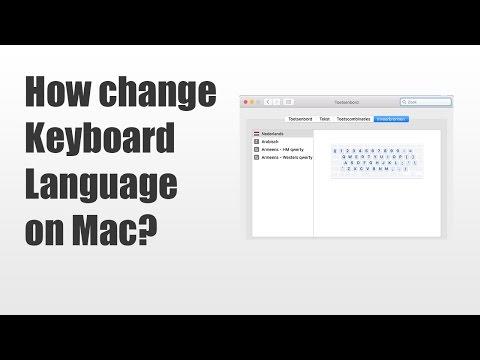 How change keyboard language on MAC OS X (tutorial mac)  - iGuru