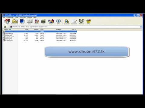 How To Put a Password On Winrar