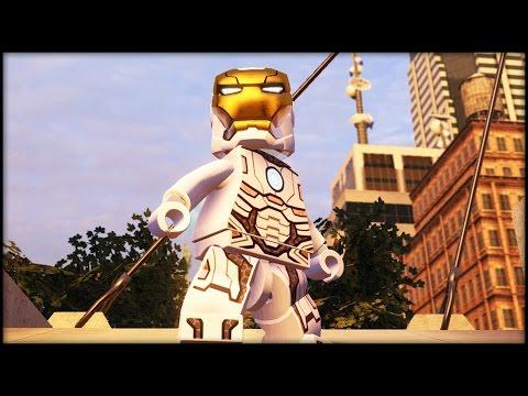 LEGO MARVEL AVENGERS - Space Iron Man Free Roam Gameplay DLC!