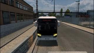 Euro Truck Simulator 2 [Mod review - Setra 516 HD]