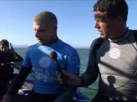 Pro Surfer Survives Shark Attack (CNN)