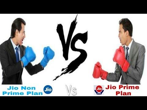 Jio prime vs non prime