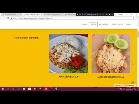 Cara menghosting menggunakan 000webhost dibantu FileZilla