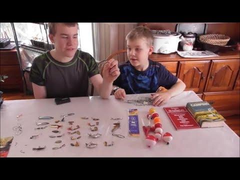 Boys' Fishing Supplies Estate Sale Haul Video