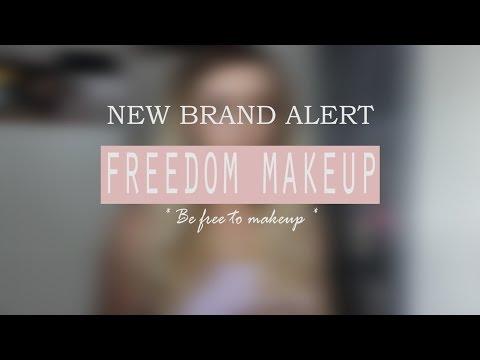 New UK Brand Alert - Freedom Makeup
