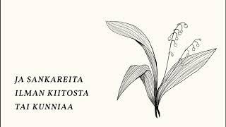 Ellinoora ja Juha Tapio - Hiljaisii heeroksii (Lyriikkavideo)