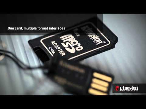 MicroSD Cards - MicroSD Mobility Kit from Kingston Technology