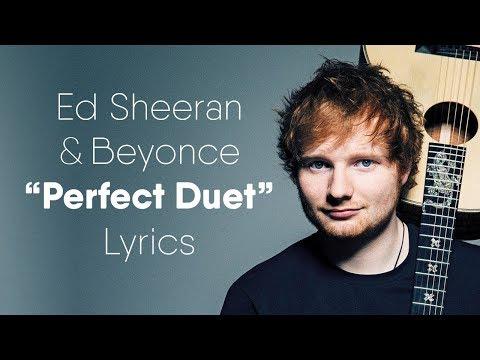 Ed Sheeran - Perfect Duet (Lyrics / Lyric Video) ft. Beyoncé