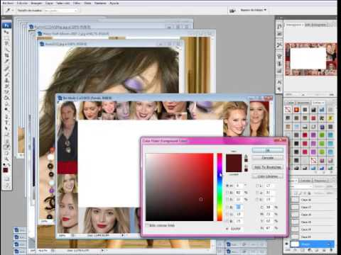 Photoshop Cs3 Tutorial - Create a Collage with a message - Easy