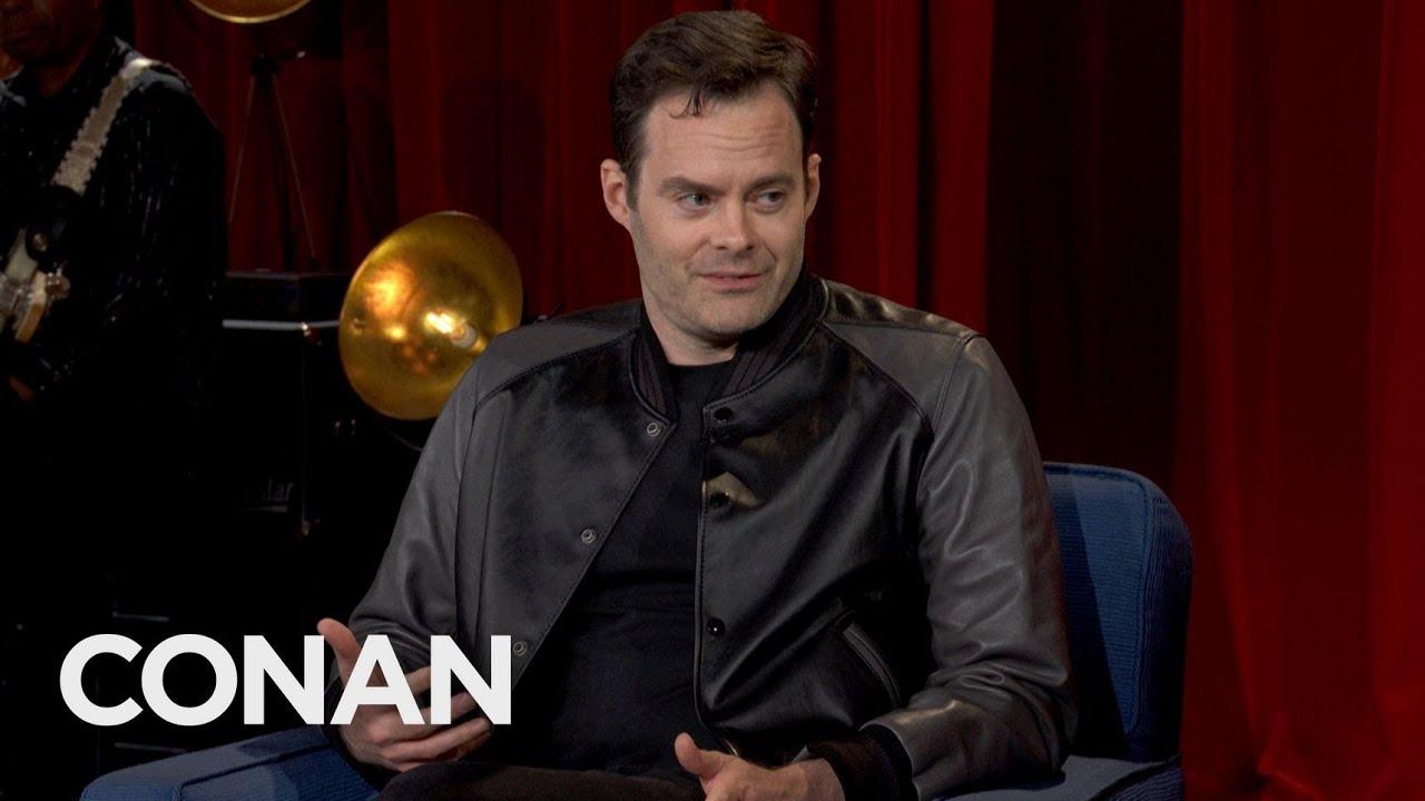 Bill Hader Full Interview - CONAN on TBS