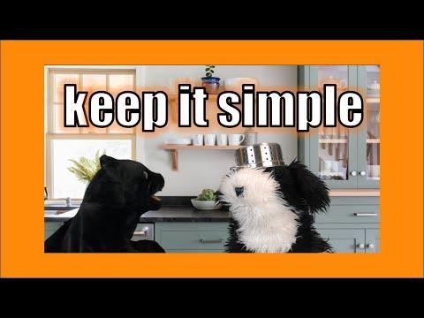 Keep It Simple!  George the Self Esteem Cat