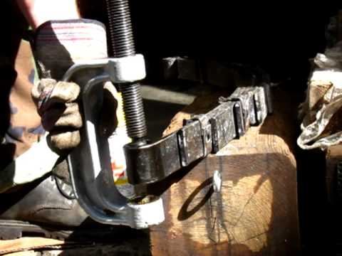 Scout spring bushing removal (