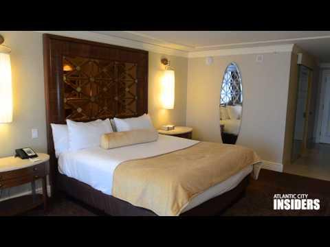 Standard hotel room at Caesars Atlantic City